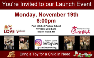 Press Conference: 2018 Gift of L.O.V.E. Toy Drive @ Paul Mitchell Partner School  | New York | United States