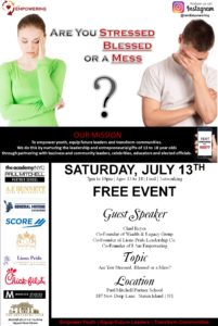 Are You Stressed Blessed or a Mess @ Paul Mitchell Partner School Leadership Center | New York | United States